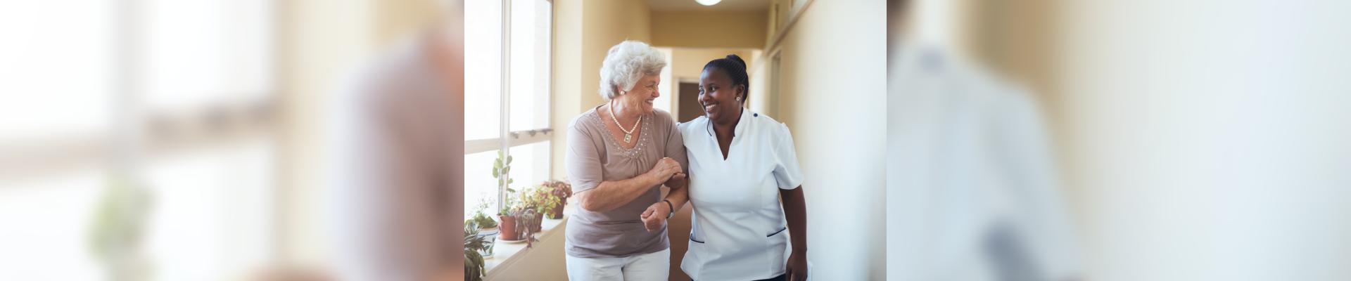 nurse counseling a patient